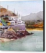 Tinos Canvas Print by George Siaba