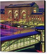 Union Station Canvas Print by Don Wolf