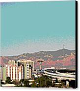Urban West Canvas Print