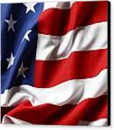 Usa Flag Canvas Print