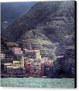 Vernazza Canvas Print by Joana Kruse