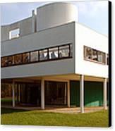 Villa Savoye - Le Corbusier Canvas Print by Peter Cassidy