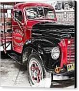 Vintage International Truck Canvas Print by Douglas Barnard