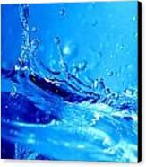 Water Splash Canvas Print by Michal Bednarek