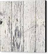 Weathered Paint On Wood Canvas Print