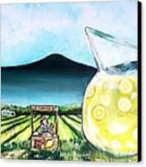 When Life Gives You Lemons Canvas Print by Shana Rowe Jackson