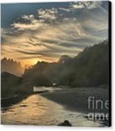 Winding Down Canvas Print by Adam Jewell