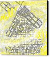 Windmill Canvas Print by Joe Dillon