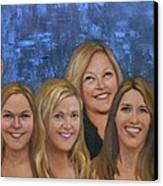 Winters Women Canvas Print