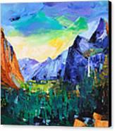 Yosemite Valley - Tunnel View Canvas Print