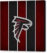 Atlanta Falcons Canvas Print by Joe Hamilton