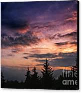 Summer Solstice Sunrise Canvas Print