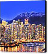 Vancouver Skyline Panorama Canvas Print