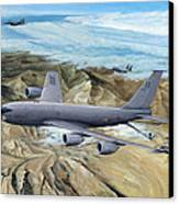 100th Arw Flagship Canvas Print