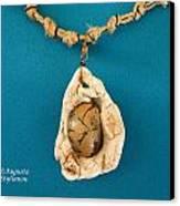 Aphrodite Antheia Necklace Canvas Print