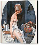 La Vie Parisienne  1926 1920s France Cc Canvas Print