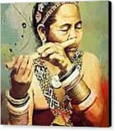 South Asian Art  Canvas Print