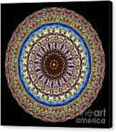 Kaleidoscope Stained Glass Window Series Canvas Print