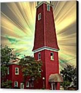 126 Hiding The Sun Canvas Print by MJ Olsen