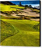 #16 At Chambers Bay Golf Course - Location Of The 2015 U.s. Open Tournament Canvas Print