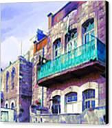 Jordan/amman/old House Canvas Print by Fayez Alshrouf