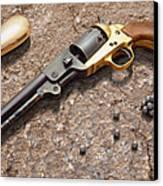 1851 Navy Revolver 36 Caliber Canvas Print by Mike McGlothlen