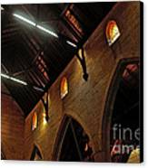 1865 - St. Jude's Church  - Interior 2 Canvas Print by Kaye Menner