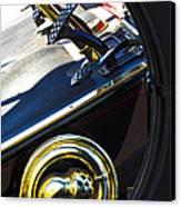 1907 Panhard Et Levassor Demi Toneau 38 Hp Horn Canvas Print by Jill Reger
