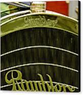 1910 Rambler Model 54 5 Passenger Touring Hood Ornament Canvas Print by Jill Reger