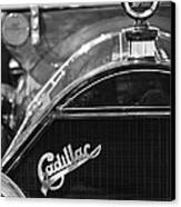 1911 Cadillac Roadster Grille And Hood Ornament Canvas Print by Jill Reger