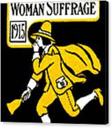 1915 Vote Yes On Woman's Suffrage Canvas Print by Historic Image
