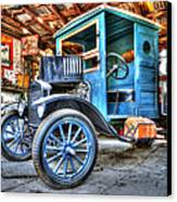 1919 Ford Model T Canvas Print by Robert Jensen