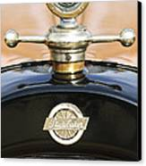 1922 Studebaker Touring Hood Ornament Canvas Print