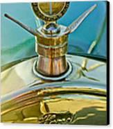 1923 Ford Model T Hood Ornament Canvas Print by Jill Reger