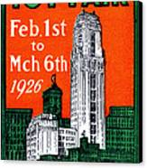 1926 New York City Toy Fair Poster Canvas Print by Historic Image