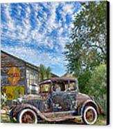 1928 Ford Model A Canvas Print by Robert Jensen