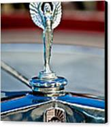 1928 Nash Coupe Hood Ornament 2 Canvas Print by Jill Reger