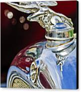 1928 Studebaker Hood Ornament 2 Canvas Print by Jill Reger