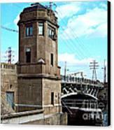 1929 Dix Lift Bridge Canvas Print