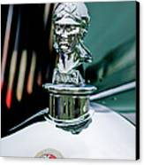 1929 Minerva Hood Ornament Canvas Print