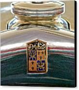 1930 Desoto K Hood Ornament Emblem Canvas Print