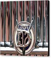 1932 Stutz Dv-32 Super Bearcat Emblem Canvas Print by Jill Reger