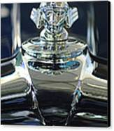 1933 Stutz Dv-32 Hood Ornament 2 Canvas Print by Jill Reger