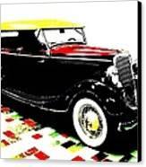 1934 Ford Phaeton V8  Canvas Print