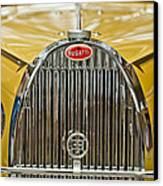 1935 Bugatti Type 57 Roadster Grille Canvas Print by Jill Reger