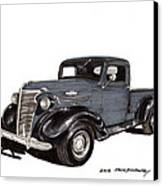 1938 Chevy Pickup Canvas Print