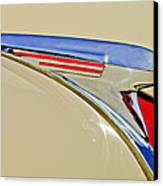 1940 Chevrolet Pickup Hood Ornament 2 Canvas Print by Jill Reger