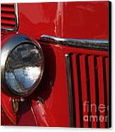 1941 Ford Flatbed Classic Canvas Print by Anna Lisa Yoder