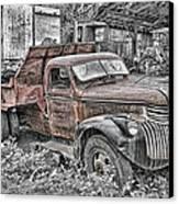 1946 Chevrolet Canvas Print by Robert Jensen