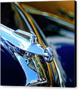 1947 Packard Hood Ornament 4 Canvas Print